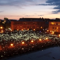 Թավշյա հեղափոխության մասին ֆիլմը շուտով կցուցադրվի. Սերժ Թանկյան