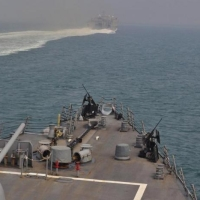 Ամերիկյան նավատորմն արտակարգ կերպով լքել է Հորմուզի նեղուցը
