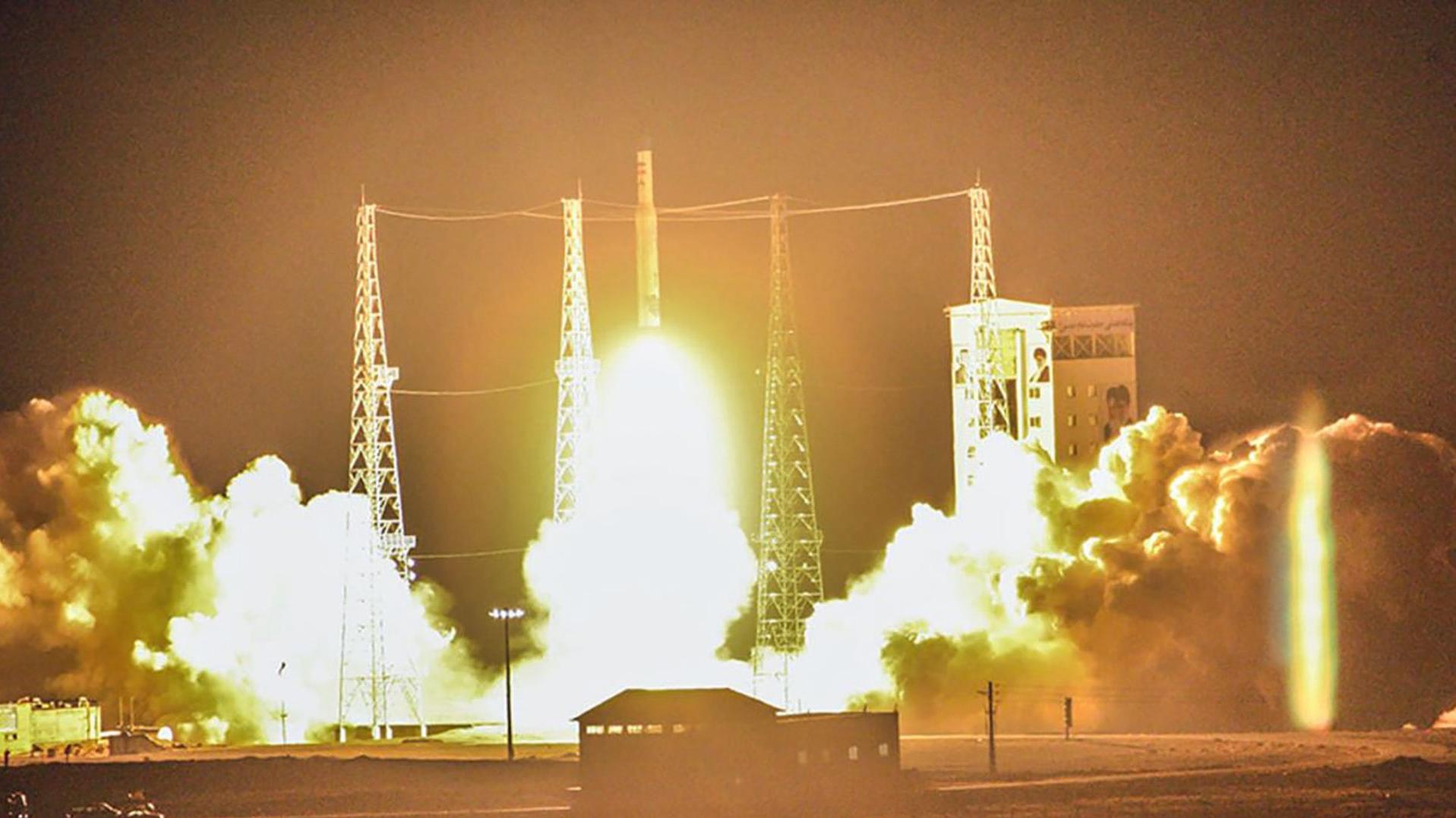 Иранский спутник Zafar-1