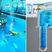 Լեհաստանում ավարտվում է ամենախորը լողավազանի շինարարությունը
