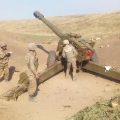 © Արցախի ՊԲ / Հրետանավորները՝ պատերազմի դաշտում