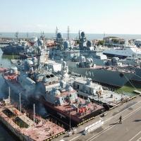 Կասպիական նավատորմի ավելի քան 40 ռազմանավեր պատրաստվում են ծով դուրս գալ