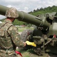 Հրետանային ստորաբաժանումների զինծառայողները մարզումներ են իրականացրել